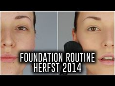 Foundation routine ❤ herfst 2014 | Beautygloss - YouTube