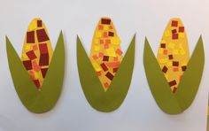 Harvest Corn - scissor practice craft