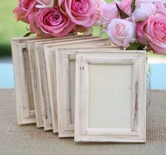 Wedding Frame Shabby Chic Rustic Distressed Paint (item P10332)