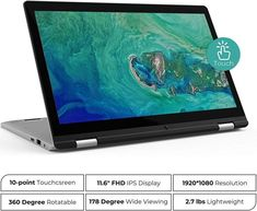 XIDU PhilBook Review: A Budget Touchscreen 2-in-1 Laptop ⋆ Android Tipster Budget Laptops, Watch Image, Best Laptops, Multi Touch, Electronic Devices, Card Reader, Colorful Pictures, 2 In