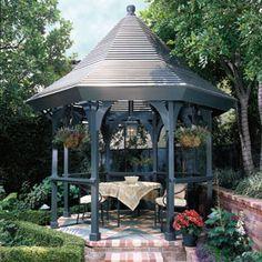 Gazebo Design Ideas Flower Boxes And Backyard