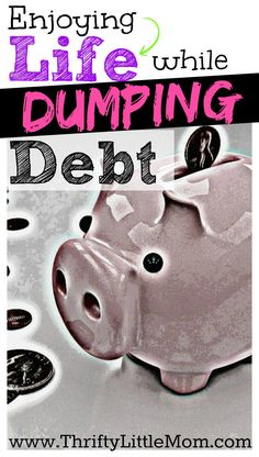 Enjoying Life While Dumping Debt. Toni did it and she has great advice to help you too