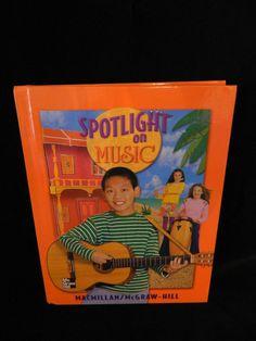 Spotlight on Music 6, HB, Excellent Shape, Macmillan McGraw-Hill  6th grade #Textbook