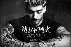 Zayn Malik's first ever solo single is titled 'Pillow Talk' and premieres with the video this Friday on MTV! Members Of One Direction, One Direction Harry, Zayn Malik, He Makes Me Happy, Love Him, My Love, Punk, Proud Of Me, Pillow Talk