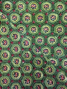 Printed cotton, India, 19th century - V&A 8452A (IS)