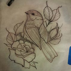 A chickadee for mondays appointment @providencetattoos