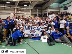 #Repost @wsu_lancers  Congratulations to the Worcester State men's indoor track & field team MASCAC CHAMPIONS! #LancerNation #NCAAD3 #D3TF