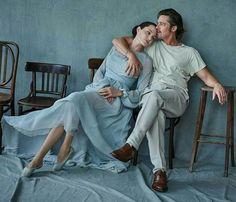Angelina Jolie and Brad Pitt  Movie By the Sea