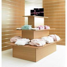3 Tier Table Shelf Display Unit - Rectangle