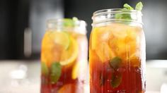 Country music group Little Big Town's Kimberly Schlapman shares her recipe for iced tea made with half sugar, half low-cal sweetener.