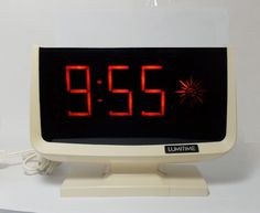 Tamura Lumitime Electric Digital Clock Model No. C31
