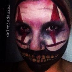 Inspiration for Halloween - Twisty - The Clown  How scary is This?