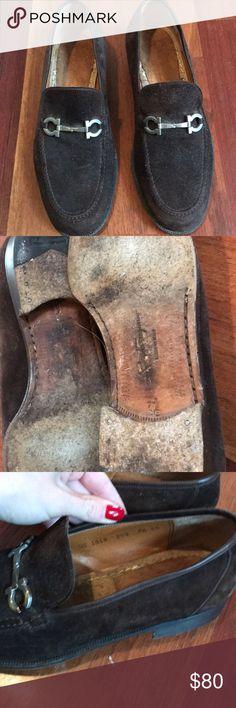 Ferragamo loafers Men's brown suede Ferragamo loafers Ferragamo Shoes Loafers & Slip-Ons