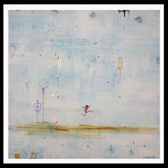 Leap Prints by Veronica Green #prints #art #artist #illustration #veronicagreen #veronicagreenarte #veronicagreennz