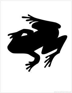 Silhouette Picture (frog, alligator, lizard, turtle?) green silhouettes on blue chevron paper framed in white. For the walls