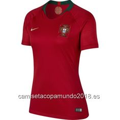 Camiseta copa mundo 2018|camisetas de fútbol baratas  Mujer camiseta  Portugal Mundial 2018 0da0eaad20205
