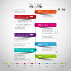 Find Vector Timeline Infographic Report Template Paper stock images in HD and millions of other royalty-free stock photos, illustrations and vectors in the Shutterstock collection. Infographic Template Powerpoint, Powerpoint Design Templates, Timeline Infographic, Web Design, Graphic Design Tips, Graphic Design Inspiration, Layout Design, Flow Chart Design, Graph Design