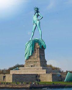 Global Warming Hits NYC.  work it.