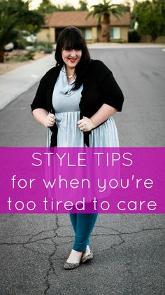 Style tips for when you're too tired to care #Togetherin10