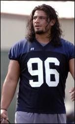 Roman in his football years.. Wow he  is a gorgeous football player back in his year's and he still gorgeous WWE my hero Roman reigns just love this superhero