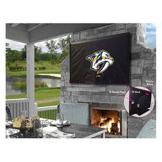 Nashville Predators Indoor/Outdoor TV Cover