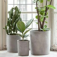Plantenpot beton, House Doctor.
