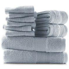 10 Piece Towel Set Ultra Soft 100% Cotton Towels Bath Hand & Washcloths Set | eBay