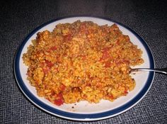 Easy Spanish Rice with Tempeh
