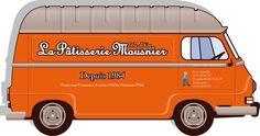 estafette de la pâtisserie Mousnier