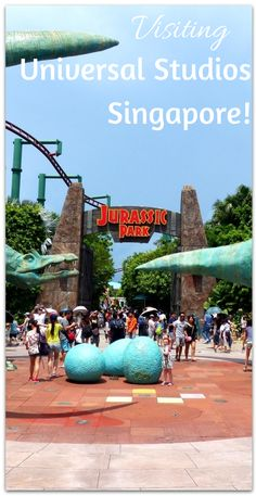 A review of visiting Universal Studios Singapore!