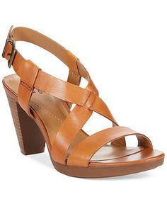 Clarks Collection Women's Jaelyn Fog Dress Sandals - Sandals - Shoes - Macy's