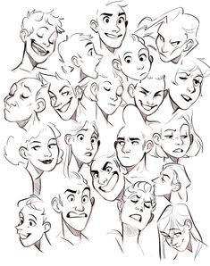 Ideas Drawing Reference Face Angles Facial Expressions For 2019 Character Design Animation, Character Drawing, Character Design Tips, Character Design Tutorial, Boy Character, Character Reference, Drawing Sketches, Art Drawings, Drawing Tips
