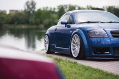 audi vehicles Charming Custom Blue Audi TT on Chrome Buttoms Gallery Ford Gt, Volvo, Peugeot, Audi Tt 225, Volkswagen, Alfa Romeo Cars, Bmw Series, Nissan, Audi Cars