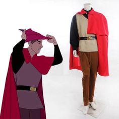 Halloween-Sleeping-Beauty-Prince-Phillip-Costume-Outfit-Adult-Men-Plus-size