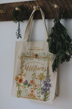 Wildflowers Reusable Shopping Bag - Under A Tin Roof