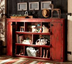 Lucy Console Table | Pottery Barn - love it but might have too much open space for near stairs