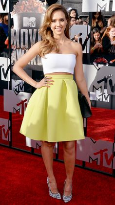 Jessica Alba - MTV Movie Awards 2014