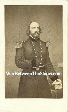 CDV General Frederick William Lander (December 17, 1821 – March 2, 1862) was a transcontinental United States explorer, general in the Union Army during the American Civil War, and a prolific poet.