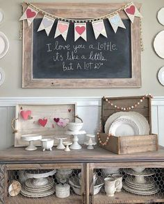 Interesting Farmhouse Valentine's Day Diy Decor Projects. If you are looking for Farmhouse Valentine's Day Diy Decor Projects, You come to the right place. Valentines Decoration, Valentines Day Food, Valentine Day Crafts, Be My Valentine, Valentine Party, Valentines Day Decor Rustic, Homemade Valentines, Valentine Wreath, Valentine Ideas
