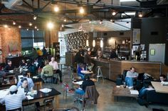 "Coffee Shops: Georgia, Octane, Atlanta.It consistently ranks on the city's ""best of"" list and has been listed among the best coffee houses by Travel & Leisure. Besides outstanding brews, they also feature amazing local art in the airy space."