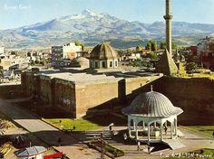 Middle Anatolia City Kayseri (Caesarea)  Old Photos Hunat Mosque