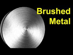 3D Max Tutorial:Brushed Metal Texture in Photoshop & 3D Max - YouTube