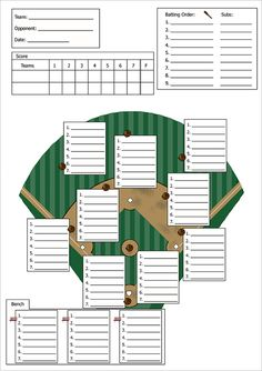 Baseball Line Up Card Template – 9+ Free Printable Word, PDF, PSD, EPS Format Download! | Free & Premium Templates