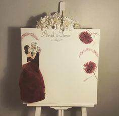 Engagements  Memory Board 50x50cm