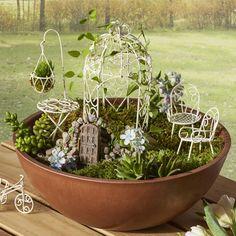Furniture 6 Pieces Fairy Garden Set