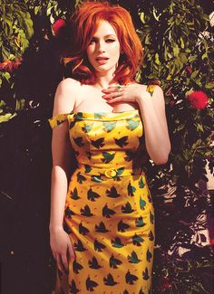 christina hendricks-- can you say confidence?!?