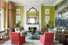 Colour Ideas: how to use green paint