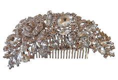 Vintage Rhinestone Hair Clip