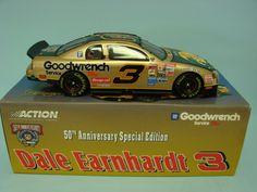 Action Racing Collectables Club Dale Earnhardt #3 1998 Monte Carlo Club Car 1/24 Scale Car