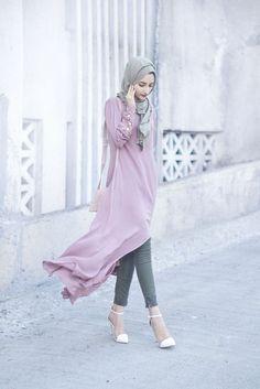 30 Super Ideas For Fashion Style For Teens Hijab Street Hijab Fashion, Abaya Fashion, Modest Fashion, Indian Fashion, Girl Fashion, Fashion Dresses, Fashion Looks, Fashion Wear, Muslim Girls
